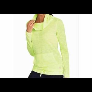 Talbots Active Cowl Neck Pullover / Color Aqua